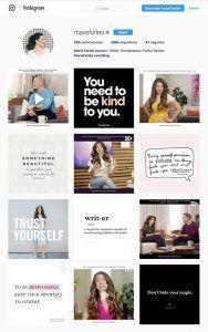 Cómo crear imágenes acorde a la identidad visual de tu marca para captar clientes en Instagram (Maria Forleo)